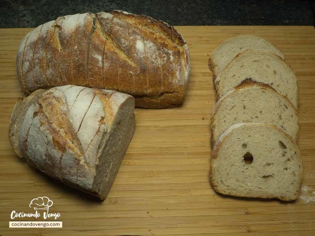 Cómo hacer pan casero, Harina y levadura (I)