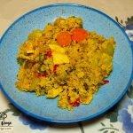 Cuscús con verduras y pollo